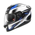 ◮無頭騎士◭ ZEUS ZS-1600 AK4藍 瑞獅 碳纖維 彩繪 可樂帽 輕量化 抗UV 全罩 安全帽 送鏡片+內襯