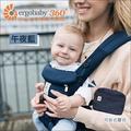 ✿蟲寶寶✿【美國 ErgoBaby】歐美藝人愛用 夏日透氣 新生兒omni全階段型四式360度 嬰兒背帶 午夜藍