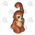 【尋磚樂】正版 樂高 猴子 猴 印刷 動物 14736pr0001 (Orangutan) LEGO 二手