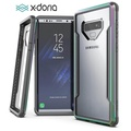 "BKKONLINE Luxury Samsung Galaxy Note 9 X-Doria กลาโหมกรณี Shield สำหรับ Samsung Galaxy หมายเหตุ 9 ชั้นวางทหารการทดสอบกรณีฝาครอบสำหรับหมายเหตุ 9 ฝาครอบป้องกันอลูมิเนียมคุ้มครองเต็มรูปแบบปกหลังสำหรับ NOTE9 ""6.4 นิ้ว"""