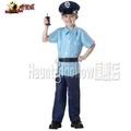 萬聖節鬼節派對角色扮演化妝舞會男兒童警察交警制服套裝