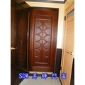 【原木雕刻實木門】SDW-34044 原木雕刻實木門。房間門。隔間門。拉門。木門。