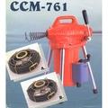 *機械五金批發*全新川方牌CCM-761 川方牌電動通管機 附A、B通管器