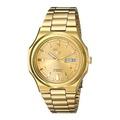 [Seiko] Seiko Men's SNKK52 Seiko 5 Automatic Gold-Tone Stainless Steel Bracelet Watch [From USA] - intl