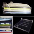 4PCS Clothes Organizer System Closet Drawer Office Desk File Cabinet Laundry Storage Holder Rack - intl