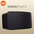 Sonos PLAY:5 Ultimate Wireless Smart Speaker for Streaming Music (Black) - intl