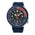Seiko Prospex and PADI Air Diver Special Edition Blue Silicone Strap Watch SNE499P1