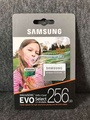 Samsung 256GB 100MB/s (U3) MicroSDXC EVO Select Memory Card with Adapter