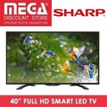 SHARP LC-40LE380X 40INCH FULL HD SMART LED TV / LOCAL WARRANTY