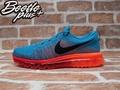 BEETLE PLUS  NIKE AIR FLYKNIT MAX 藍橘 漸層 針織 動態飛線 慢跑鞋 620469-406