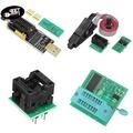 YBC EEPROM BIOS USB Programmer CH341A + SOIC8 Clip + 1.8V Adapter + SOIC8 Adaptor Kit