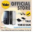 Yale Digital Lock for Metal Doors - YDR323GN