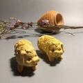 黃楊木雕豬 木雕 豬木雕 送禮 禮物 過年 聖誕節 禮物 聖誕禮物 豬 手工 雕刻
