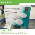 TP-LINK Deco M5 V2 無線網狀路由器 AC1300 Mesh Wi-Fi系統 (三件組)〔每家比〕