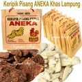 PACKAGE SAVE BANANA CHIPS [1 Package 4 The flavor] BANANAS FOR VARIOUS Typical Lampung (Lampung Piscok) Stock snacks with family and loved ones