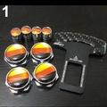 BENZ 牌照螺絲+氣嘴蓋+插扣 AMG GLA CLA ML SLK  W222 W221 R231 W176