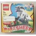 LEGO 40148 40207 40234 羊,𤠣,雞 (三款合售)