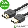 綠聯 2M HDMI 2.0傳輸線 Portable版