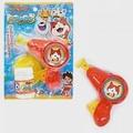 【日本進口正版】妖怪手錶 吉胖喵 手壓式 泡泡槍 玩具 野餐 戶外活動