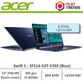 Sept Promo!!! Acer Swift 5 SF514-52T-5702 (Blue) 14inch Thin and Light Laptop