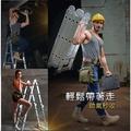 【免運】八段式變型金剛摺疊梯 鋁梯 樓梯 梯子 梯 摺疊梯