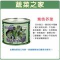 【蔬菜之家】大包裝A67.紫色芥菜種子10克(日本進口)