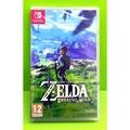 (有中文)任天堂 Nintendo Switch 薩爾達傳說 荒野之息 荒野之息