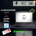 "ALIENWARE AW15 R4 - 875F816G GTX1060 EXCLUSIVE (i7-8750H / 8GB / 1TB / Win10 ) 15.6"" With 120Hz Gaming Laptop *IT SHOW PROMO*"