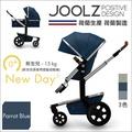 ✿蟲寶寶✿【荷蘭JOOLZ】豪華大車輪 高景觀 可變睡箱 嬰兒手推車 Day2 鸚鵡藍