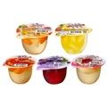 【盛香珍】綜合水果多果實果凍180gx6杯(滿足水果凍 附湯匙)
