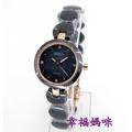 【 幸福媽咪 】網路購物、門市服務 BIBA 碧寶錶 公司貨 藍寶石 陶瓷女錶 玫瑰金 26mm B31BC049B