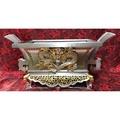 正錫製 安金 1尺3 雙色 奏版 猛龍 馬槽爐 錫爐