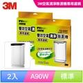3M 雙效空氣清淨除濕機專用濾網 FD-A90W(2入組)