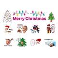 聖誕主題客製化LINE貼圖、聖誕節交換禮物、交換禮物、客製化line貼圖/客製line貼圖/客製賴貼圖