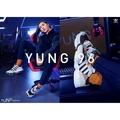 KUMO SHOES-Adidas Originals Yung-1 復古 老爹鞋 卡其 橘 慢跑鞋 男款 F35017