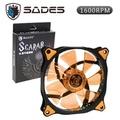SADES SCARAB 聖甲蟲魔- 橘12CM LED 機殼風扇