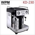 惠家WPM KD-230HK 家用半自動義式咖啡機(黑) 220V (HG0922)