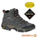【美國 MERRELL】女新款 MOAB 2 MID GORE-TEX 多功能防水透氣中筒登山健行鞋.登山鞋/Vibram黃金大底.抗菌防臭鞋墊/ML06062 深灰