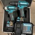 熊貓工具 牧田 makita 12V 雙機組 CLX202SMAX 充電電鑽 CLX202(TD110D+HP331D)