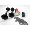 ˋˋ MorTer ˊˊ 空氣喇叭 空氣砲 大聲公 汽機車12V 超大聲 汽笛 各車系皆可用 非 警笛 消防 強化線組