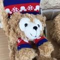 香港達菲熊圍巾