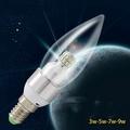 5Cgo led節能蠟燭燈泡 E14/E27大小接口 3W6W12W玉米燈泡5W/7w/9w 尖泡水晶燈 【代購含稅】