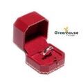 GREENHOUSE PACKAGE กล่องแหวน + ต่างหู คาเทียร์ (สีแดง)