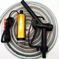 直流電抽水機  12V抽水馬達 不銹鋼12V抽水機 電動抽水泵抽油泵 附5米管送加油槍 自吸柴油泵