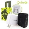 Coluxe 高速4孔USBQC3.0 電源充電器