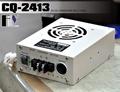 《飛翔無線》CQ-2413 變壓器 24V轉13.8V〔 30A 點煙孔設計 風扇式散熱 〕