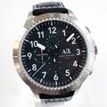 正品代購ARMANI EXCHANGE AX AX1754 亞曼尼 手錶 50mm 皮帶 大錶面 男錶