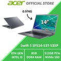 Acer Swift 5 SF514-53T-53XP 14-Inch Intel i5 Thin & Light Laptop (Grey)