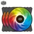【Cooler Master 酷碼】MasterFan MF120R A.RGB 三合一組合包(含控制器)