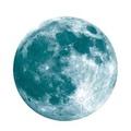 ออสการ์ Store 20 เซนติเมตรส่องสว่างดวงจันทร์ดวงจันทร์สติกเกอร์เรืองแสง - นานาชาติ